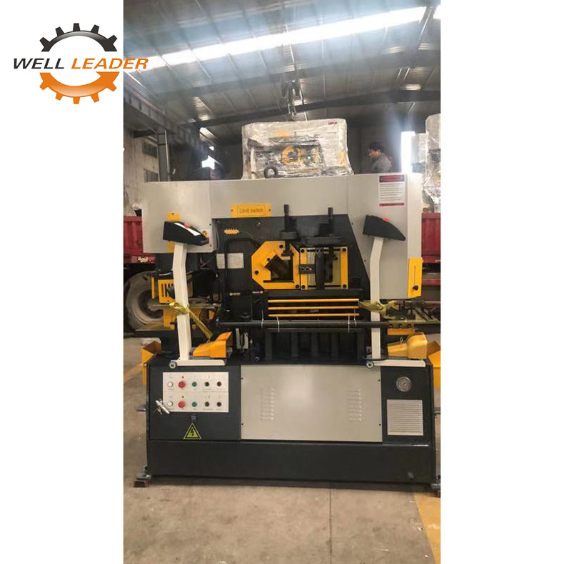 Long Life Plc Hydraulic Punch Press And Shear Ironworker Control System
